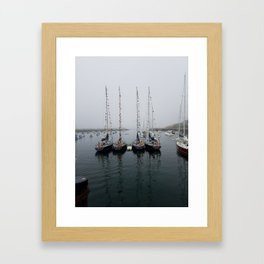 Aim for Brave Framed Art Print