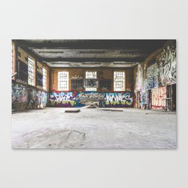 Hoop Up? Canvas Print