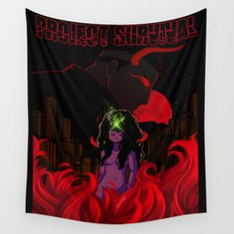 PROJECT SURVIVAL Wall Tapestry