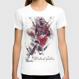 basketball player art 13 T-shirt