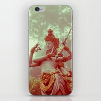 goddess iPhone & iPod Skins featuring Goddess by Farkas B. Szabina
