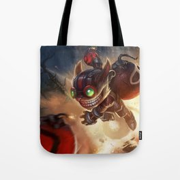 Classic Ziggs League Of Legends Tote Bag