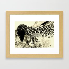 Reptilian Framed Art Print