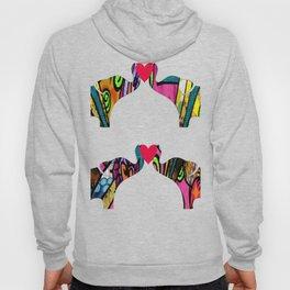 Groovy Elephant Love Hoody