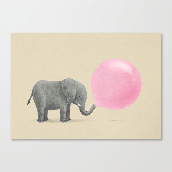 Jumbo Bubble Gum Canvas Print