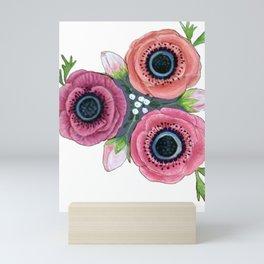 Anemone Posy Mini Art Print