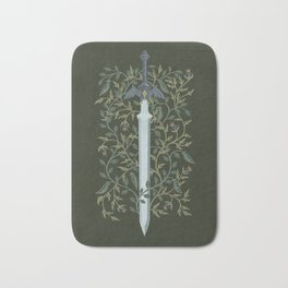 Sword of Time Bath Mat