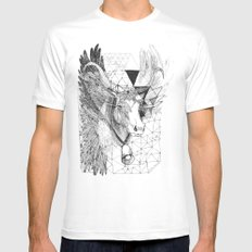 HOLY_COW Mens Fitted Tee White MEDIUM