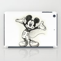 mickey iPad Cases featuring Mickey Mouse by Herself