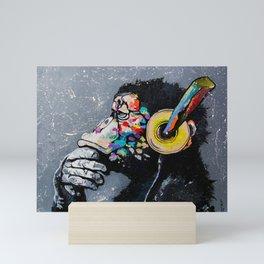 MELOMONKEY I Mini Art Print
