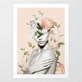 Floral beauty 6 Art Print