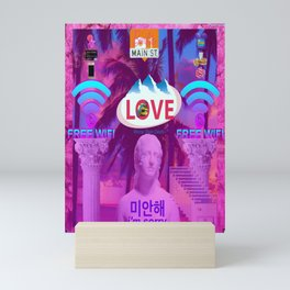 Love Folly Mini Art Print