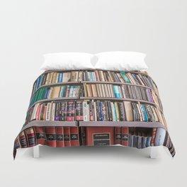 Library books Duvet Cover