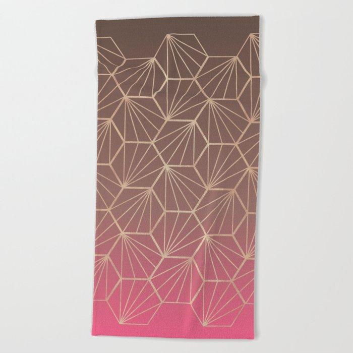 Natural Geometry II Beach Towel
