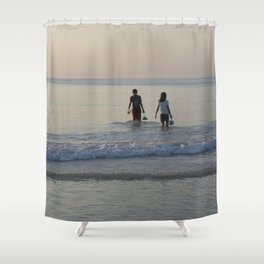Kamala Sunset 1 Shower Curtain