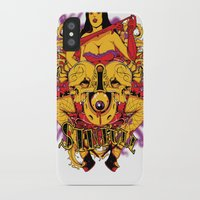 rockabilly iPhone & iPod Cases featuring Sinful rockabilly  by Tshirt-Factory