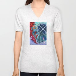 Who would win? Unisex V-Neck