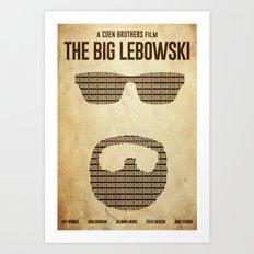 White Russian - The Big Lebowski Poster Art Print
