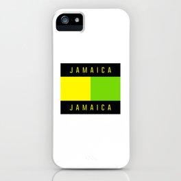 Jamaica Jamaica iPhone Case