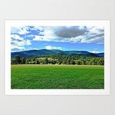 Captivating Virginia Landscape - Blue Ridge Mountains Art Print