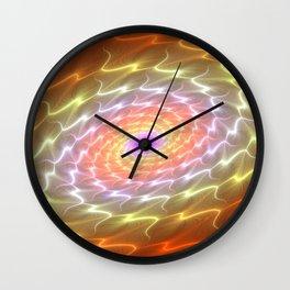 Aura Of A Galaxy Wall Clock