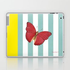 Coral butterfly Laptop & iPad Skin
