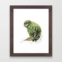 Mr Kākāpō Framed Art Print