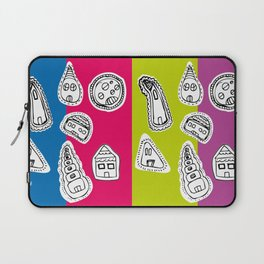 House Pattern Laptop Sleeve