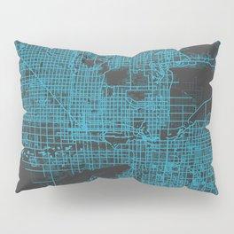 Phoenix map blue Pillow Sham