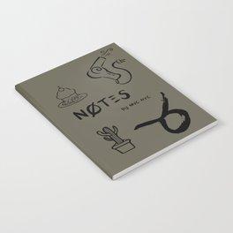 Taurus Notes Notebook
