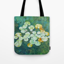 Tranquil lily pond Tote Bag