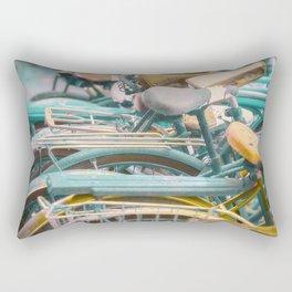 Bicicletta Tangle Rectangular Pillow