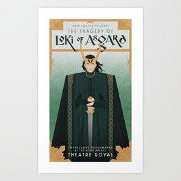 The Tragedy of Loki of Asgard Art Print