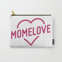 Pink Mome Love Carry-All Pouch
