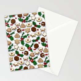 Christmas Treats and Cookies Stationery Cards