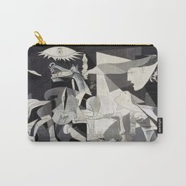 Pablo Picasso Guernica 1937 Artwork Shirt, Art Reproduction for Prints Posters Tshirts Men Women Carry-All Pouch