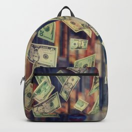 Falling Money Backpack