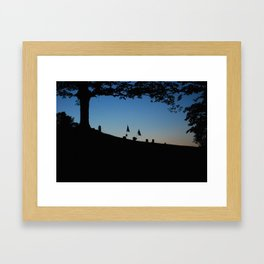 Lost But Never Forgotten Framed Art Print
