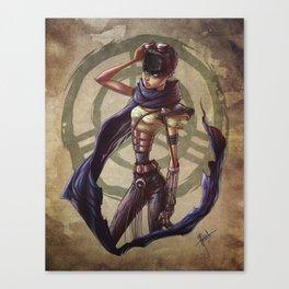 Furiosa y Rabiosa Canvas Print
