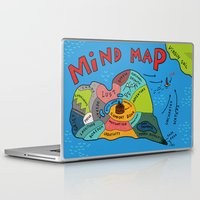uncharted Laptop & iPad Skins featuring Uncharted Waters by miumau