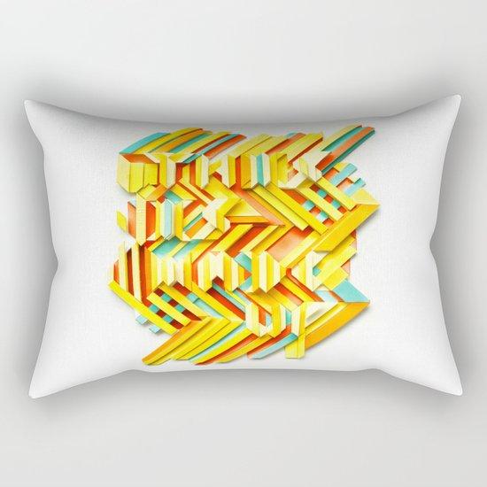 This Is Made Up #3 Rectangular Pillow