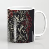 warrior Mugs featuring Warrior by The Sastra