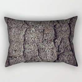Cracked asphalt road Rectangular Pillow