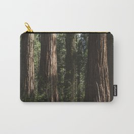 Sunlit California Redwood Forests Carry-All Pouch