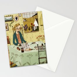 The Crossword Puzzle Stationery Cards