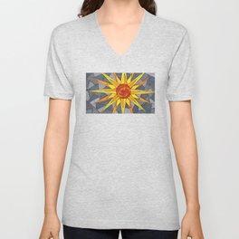 Blazing Sun Unisex V-Neck