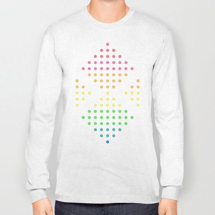 Sugar Dots (white) Long Sleeve T-shirt