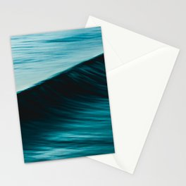 Slow Shutter On Wave Stationery Cards