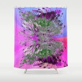 Butterfly-the influencer Shower Curtain