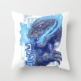 Atomic Fire Born! Throw Pillow